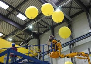 Wendelstein 7-X electrical system being installed
